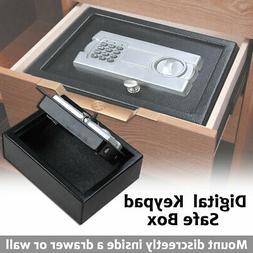 Portable 12X9 Keypad Safe Hand Gun Pistol Drawer Keyless Dig
