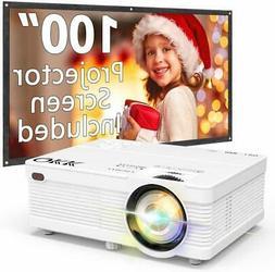 QKK Portable LCD Projector 3500 Brightness