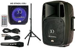 """Alphasonik 12"""" Powered 2000W PRO DJ Amplified Loud Speaker B"""