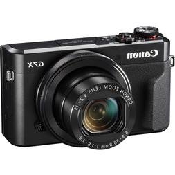 Canon PowerShot G7 X Mark II Compact Digital Camera Black