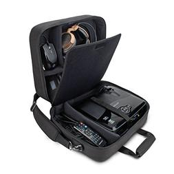 Projector Carrying Case Travel Bag with with Padded Shoulder