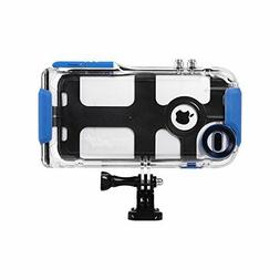 ProShot Waterproof and GoPro Mountable Case for iPhone 8 Plu