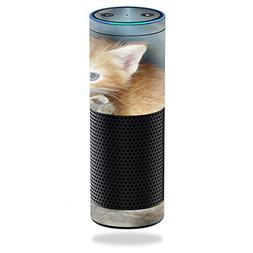 MightySkins Protective Vinyl Skin Decal for Amazon Echo/Amaz