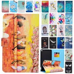 PU Leather Folio Case Cover Wallet Stand for Amazon Kindle F