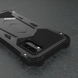 R-JUST Aluminum Metal Waterproof Armor Case Cover For Samsun