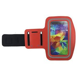 New Vinabty Red Sports Running Armband with Key Holder, Wate