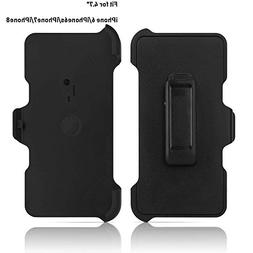 2 Pack Generic Replacement Holster Belt Clip for Apple iPhon