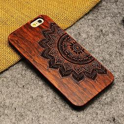 OTOOLWORLD Retro Nature Wood Case for Apple iPhone 6 iPhone