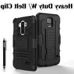 For Samsung Apple HTC LG Case Cover Heavy Duty Armor Box Bel