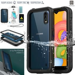 For Samsung Galaxy A21 Case Waterproof Shockproof Dirt Proof