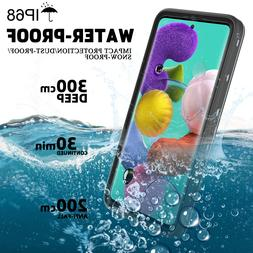 For Samsung Galaxy A51 Case Waterproof Shockproof Clear Full