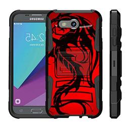 TurtleArmor | Samsung Galaxy J3 Emerge Case | J3  | Amp Prim