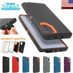 For Samsung Galaxy Note 10+ Plus Defender Case Waterproof He