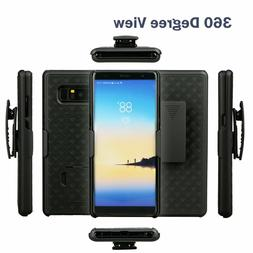 For Samsung Galaxy Note 8 Belt Clip Holster Cell Phone Case