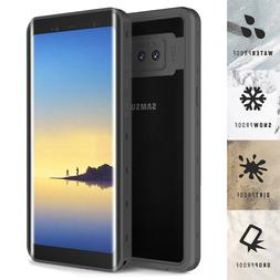 For Samsung Galaxy Note 8 Waterproof Case Shockproof Built-i