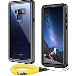 Temdan Samsung Galaxy Note 9 Waterproof Case, Heavy Duty Sup