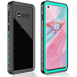For Samsung Galaxy S10 Plus Waterproof Case Shockproof Built