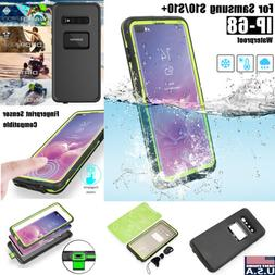 For Samsung Galaxy S10+ Plus Waterproof Case Shockproof Dirt