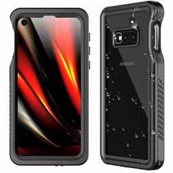 Samsung Galaxy S10E Case Waterproof Military Shockproof Scre