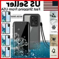 For Samsung Galaxy S20 Plus S20 Ultra 5G Waterproof Case wit