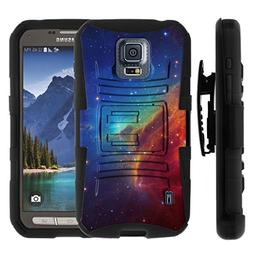TurtleArmor | Samsung Galaxy S5 Active Case | G870  Hybrid D