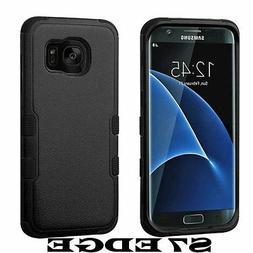 Samsung Galaxy S7 Edge G935 Protector Cover Case Hybrid Tria
