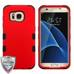 For Samsung GALAXY S7 Edge Hard Shockproof Tuff Hybrid Prote