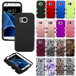 For Samsung GALAXY S7 /Edge Hard Shockproof Tuff Hybrid Prot