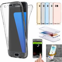 Samsung Galaxy S7 Edge Shockproof TPU 360 Full Protective Ru