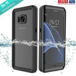 For Samsung Galaxy S7 Edge Waterproof Case with Built-in Scr