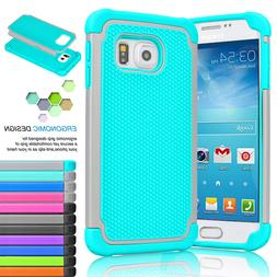 For Samsung Galaxy S7 / S7 Edge Shockproof Armor Rugged Rubb