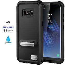 Samsung Galaxy S8 Case,ASAKUKI Full Body Case With Screen Pr