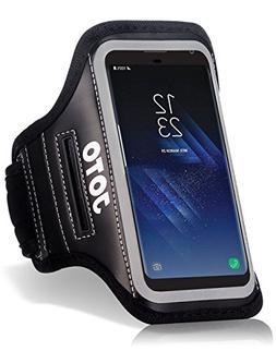 Samsung Galaxy S8 Plus Sport Exercise Armband, JOTO Sport Pr