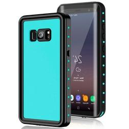 For Samsung Galaxy S8 Plus Waterproof Case W / Built-in Scre