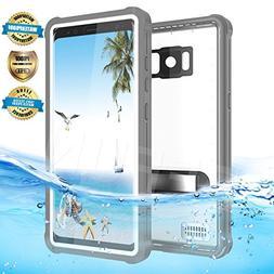 Samsung Galaxy S8 Plus Waterproof Case, AICase Shockproof, S