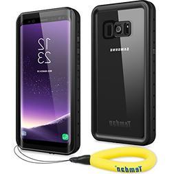 Temdan Samsung Galaxy S8 Waterproof Case Supported Wireless