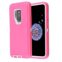 XBK Case for Samsung Galaxy S9, Waterproof Case with Built-i