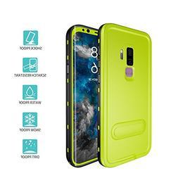 Samsung Galaxy S9 Plus Case, IP68 Waterproof Shockproof Dust
