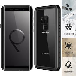 For Samsung Galaxy S9 Plus Waterproof Case Cover Fre with Sc
