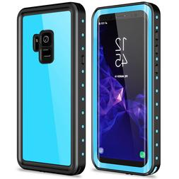 For Samsung Galaxy S9 Plus Waterproof Case Built-in Screen P