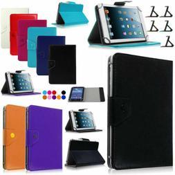 PU Leather Folio Case For Samsung Galaxy Tab3 Lite/4/Tab A/E