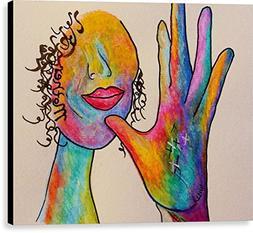 """American Sign Language . . . Mother"" by Eloise Schneider, C"