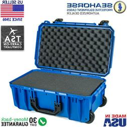 Seahorse SE-830 Waterproof Wheeled Protective Case with Foam