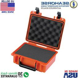 Seahorse SE300 Waterproof Protective Hard Case with Pre-Cut