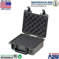Seahorse SE300F-GM Waterproof Case and Foam - Gun Metal Grey