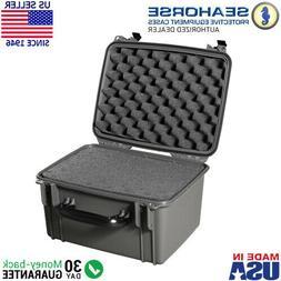 Seahorse SE540 Case w/ Foam Gun Metal Gray