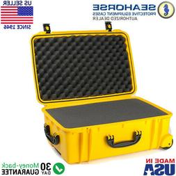 Seahorse SE920 Protective Wheeled Case with Foam