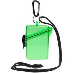 Witz See It Safe Waterproof Case, Green