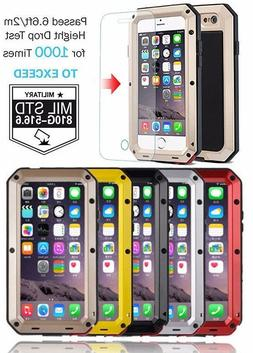 Shockproof Aluminum Glass Metal Case Cover for iPhone SE 5C