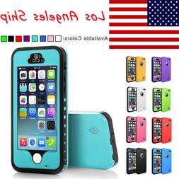 Shockproof For Apple iPhone 5 5S SE Waterproof Case W/Attach